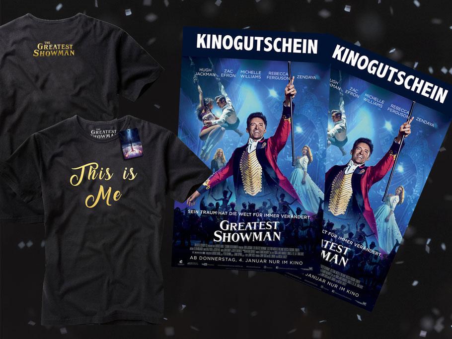 Geschichte des Zirkus - The Greatest Showman - Hugh Jackman - FOX - kulturmaterial Gewinnspiel