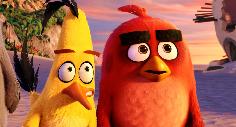 Angry Birds Film - CHUCK und RED - Rovio Entertainment - Sony Pictures - kulturmaterial