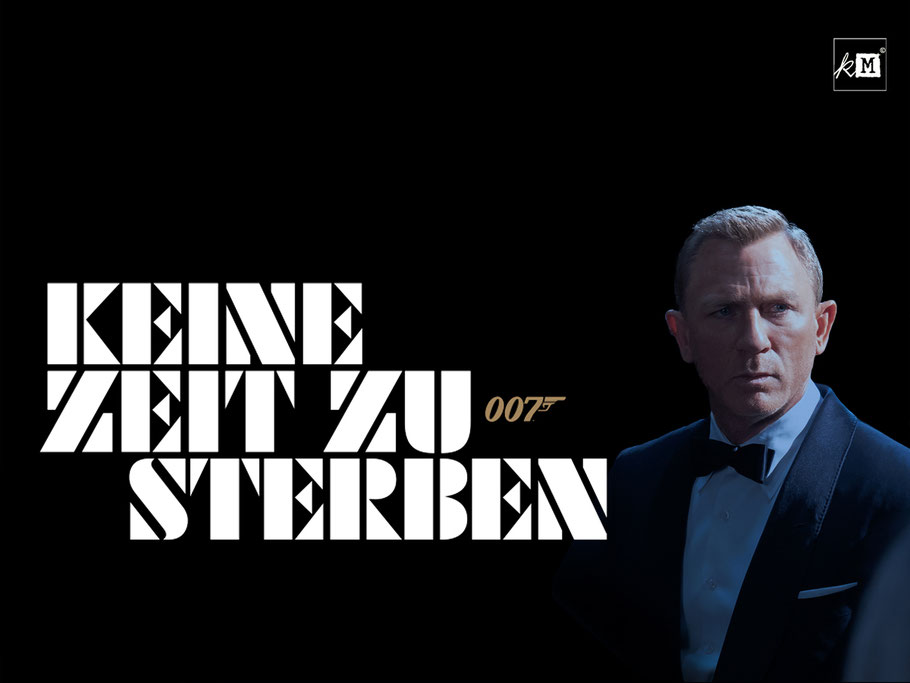 Bond 25 Keine Zeit Zu Sterben - Daniel Craig - Universal - kulturmaterial