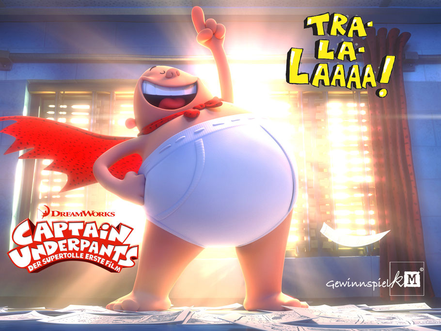 Captain Underpants - 20th Century Fox - DreamWorks - kulturmaterial