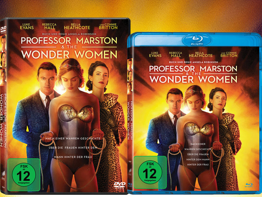 Professor Marston The Wonder Woman Blu-ray - Angela Robinson - Sony - kulturmaterial