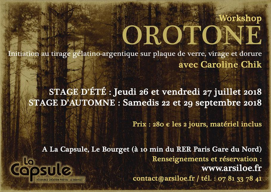 Stage orotone Arsiloe