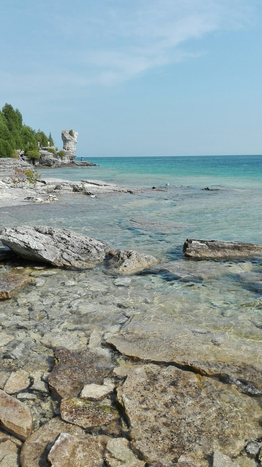 Flower Pot Islands, Bruce Peninsula Nationalparc