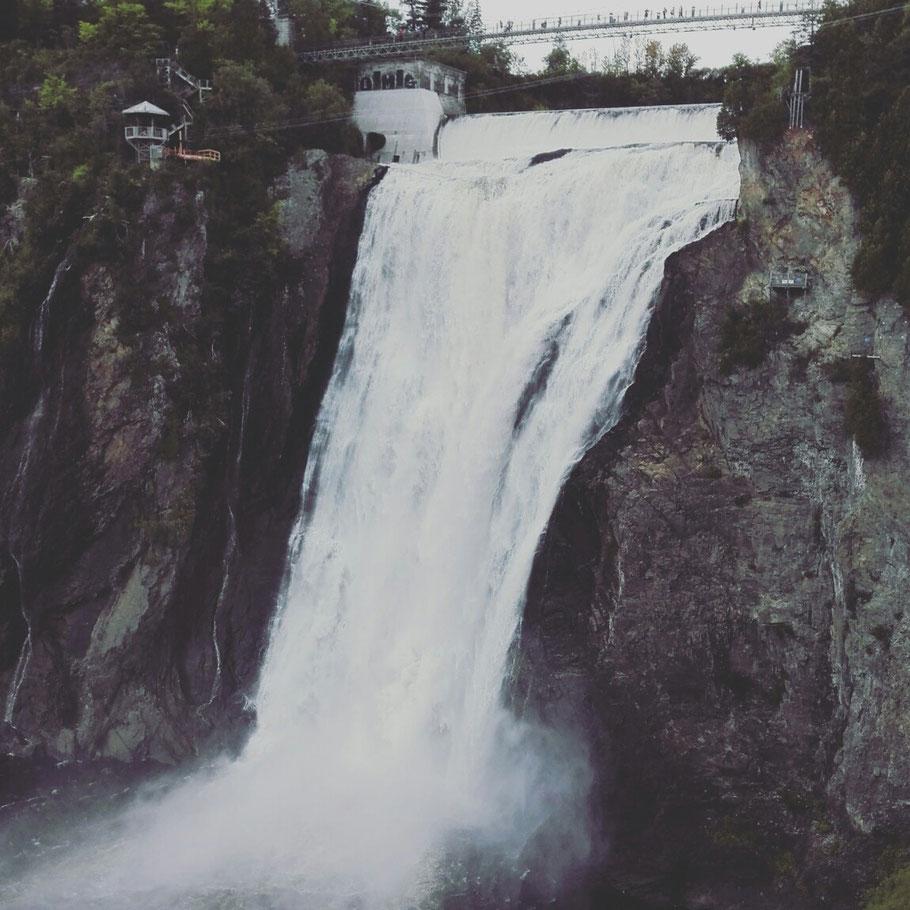 La chute de montmorency - Quebec, Quebec City, Kanada