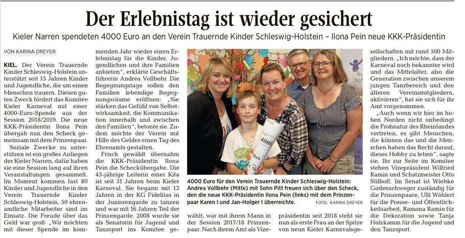 Kieler Nachrichten 05.07.2019