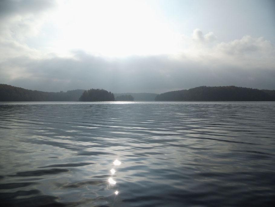Auf dem Komorze See