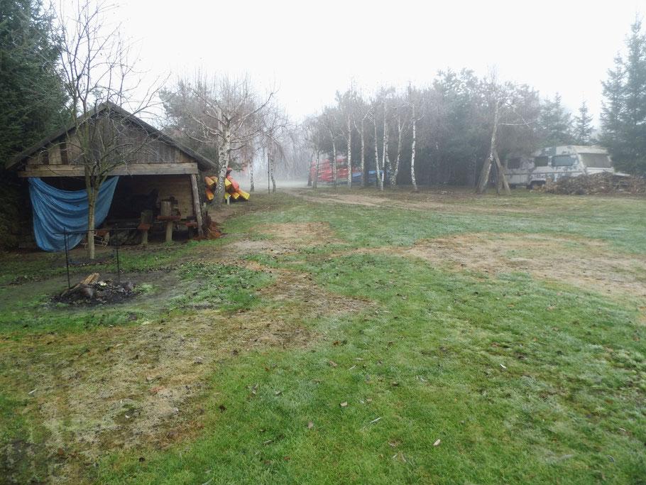 Biwakplatz in Szwecja