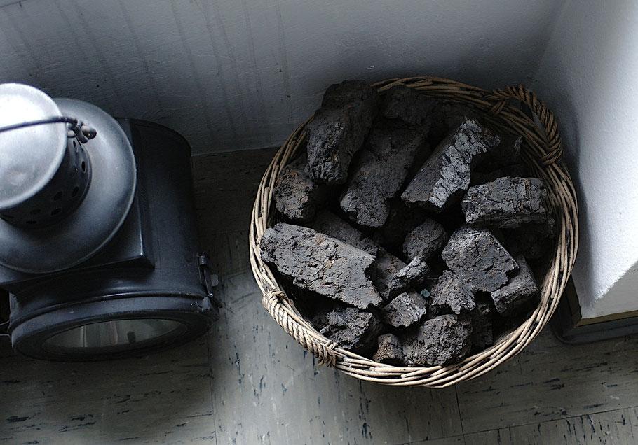 Im Pfungstädter Moor wurde einst Torf abgebaut und als Brennstoff verwendet.
