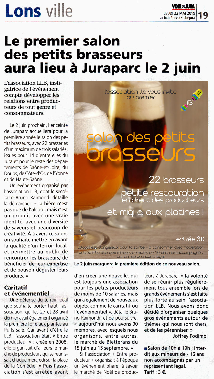 association llb - bière artisanale  - producteurs de bougogne franche comté