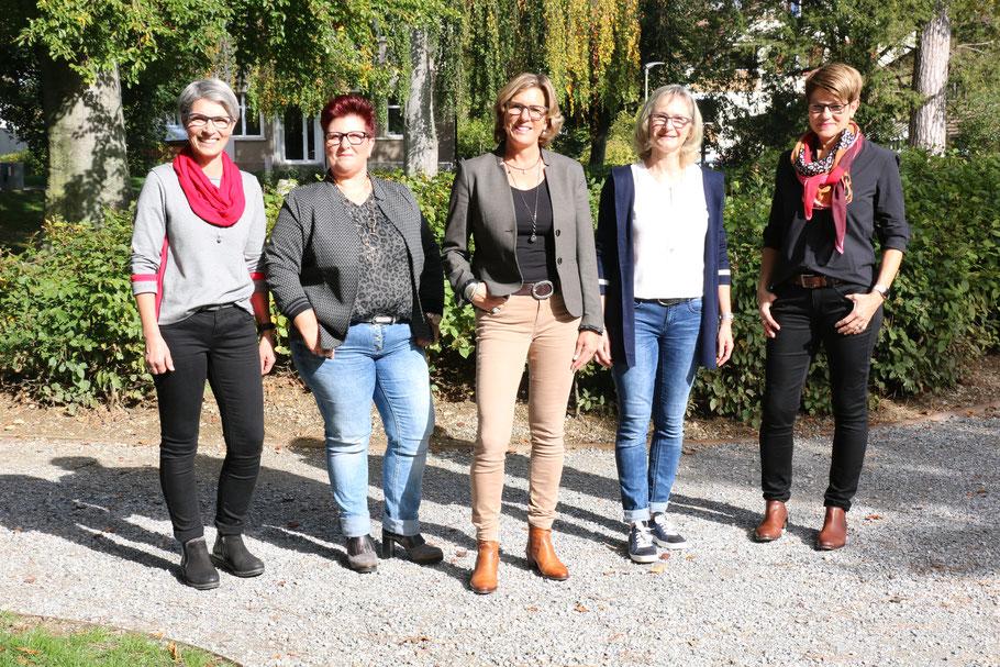 Käthi Roths,    Sandra Buccella,   Andrea Häfelfinger (Inhaberin),    Rosmarie Niederhauser,    Andrea Thommen