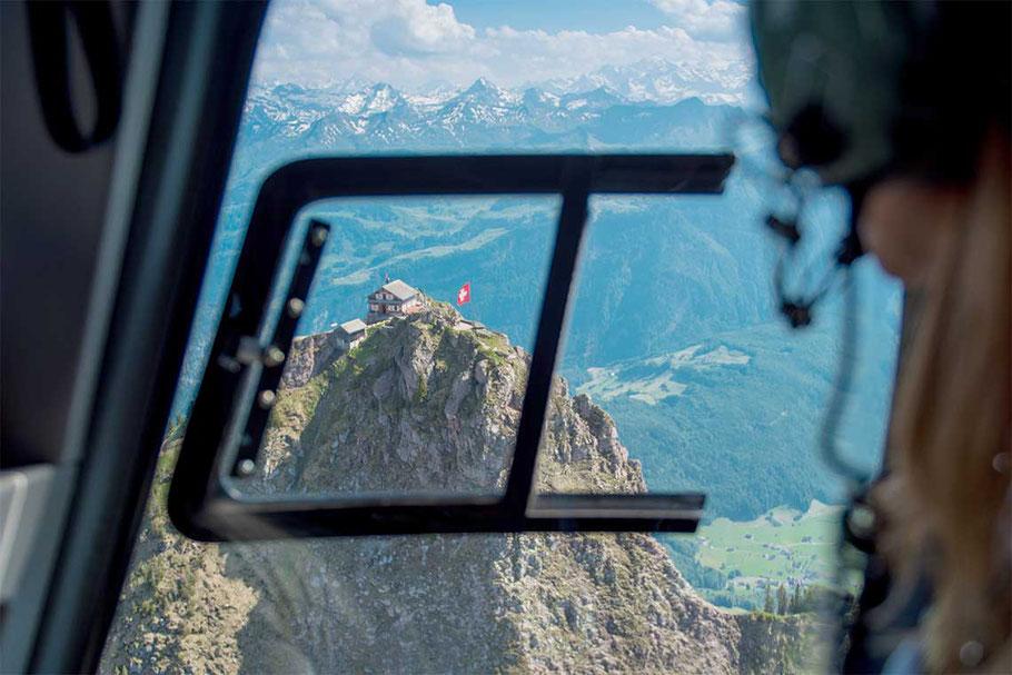 Helikopterflug Mhyten