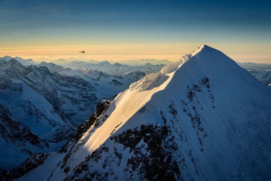 Der Traum vom Fliegen bei einem Alpenrundflug