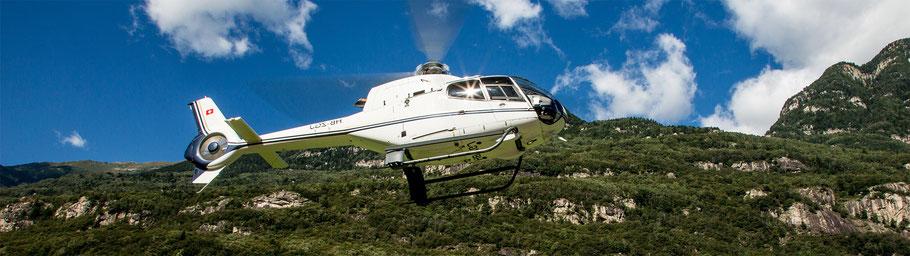 15 Min. Helikopterrundflug