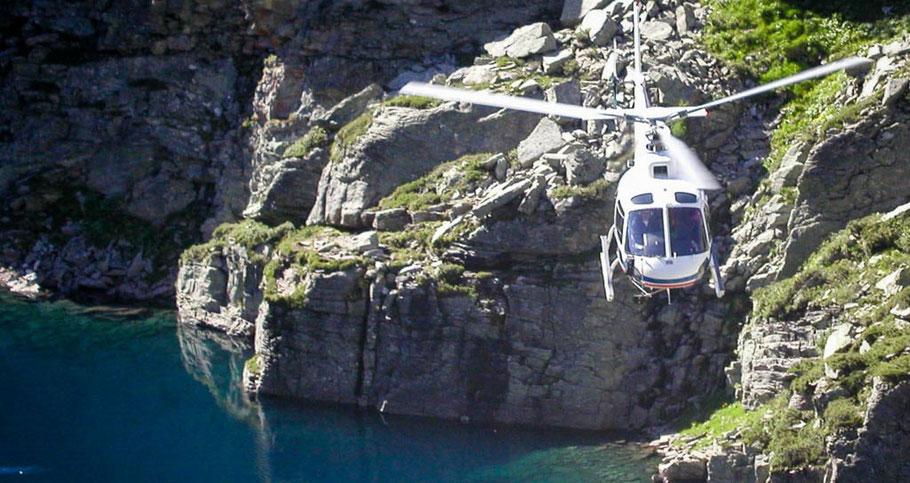 Helikopterrundflug Bergseen