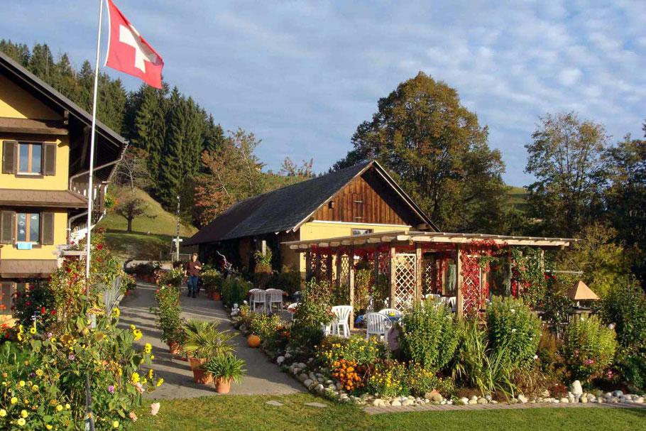 Berghof Roomos heisst Sie herzlich Willkommen