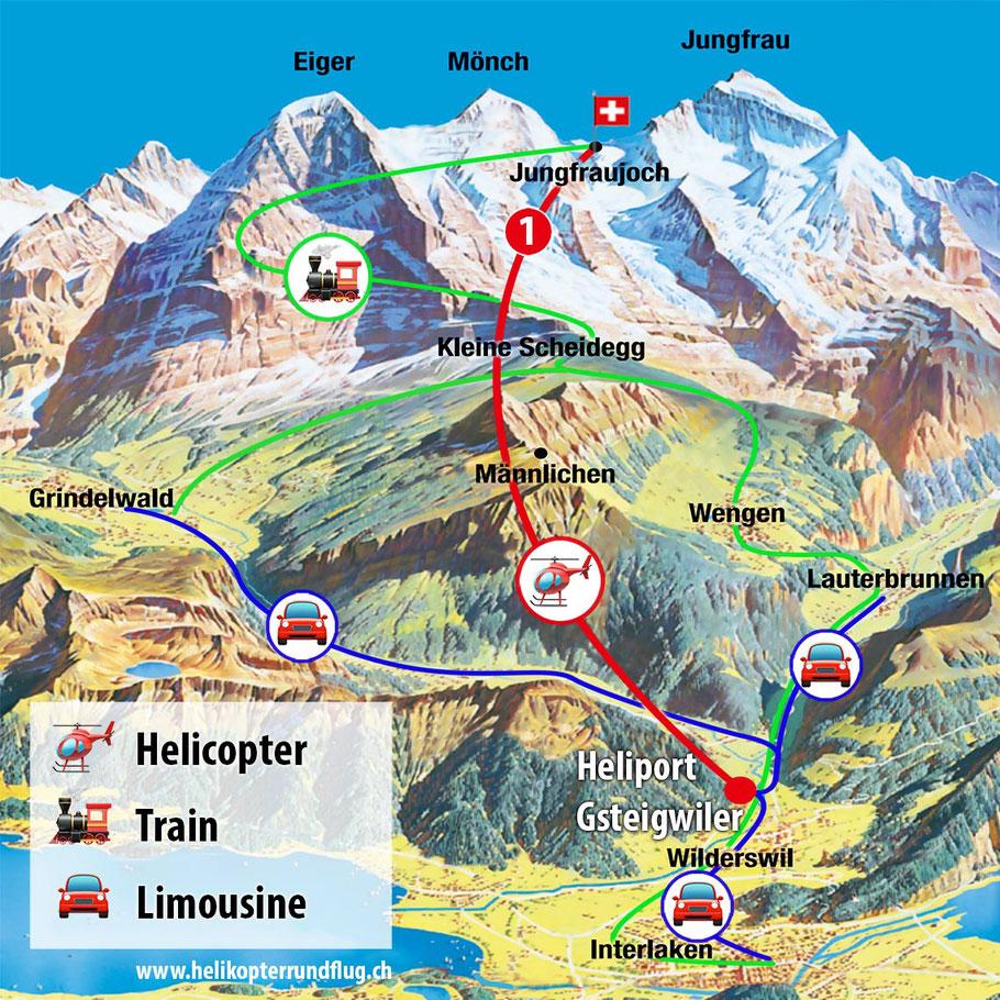 Jungfraujoch Helikopter Express