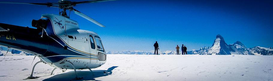 Helikopterrundflug Zermatt & Matterhorn