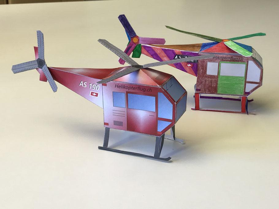Papierhelikopter
