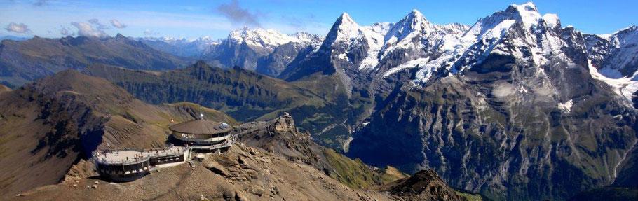 60 Min. Rundflug / Jungfraujoch Region