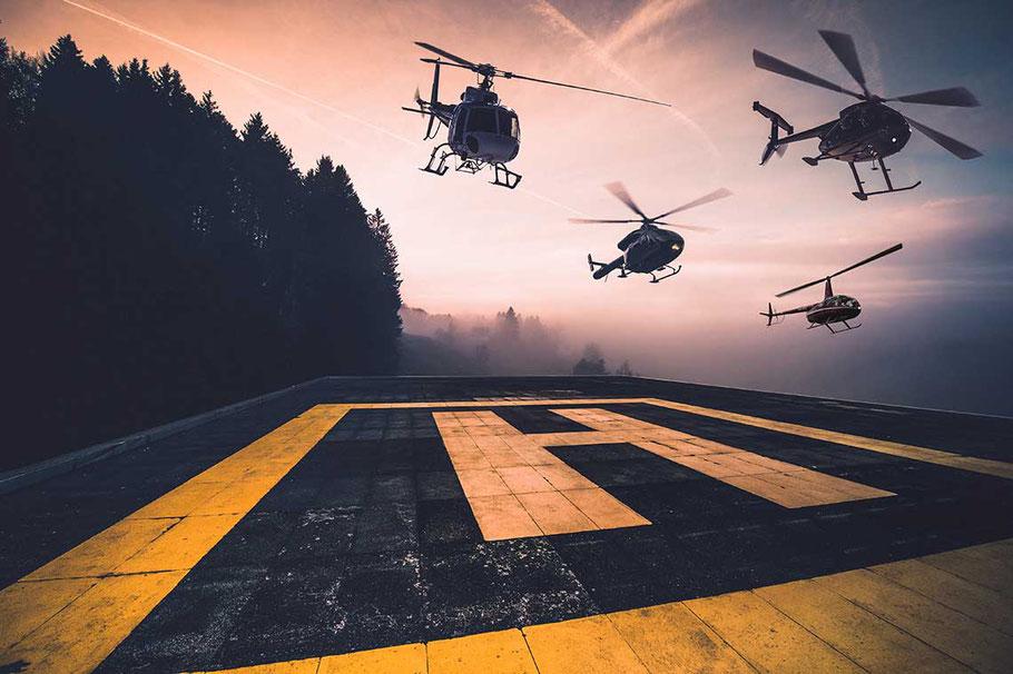 Fuchs Helikopter Flotte