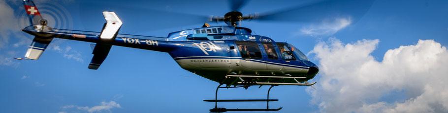 Helikopterrundflug Basel