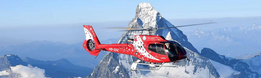 Matterhorn Rundflug Air Zermatt