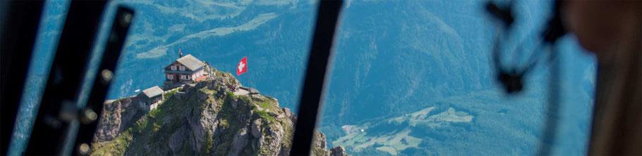Helikopterflug Mythen
