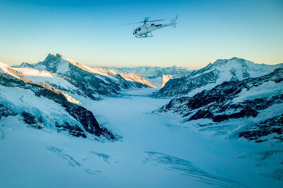 Helikopter Jungfrau Region