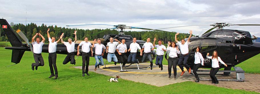 Team und Piloten (Homebase Luzern)