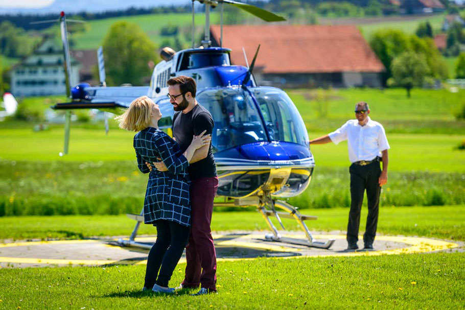 Wettbewerb Helikopterflug
