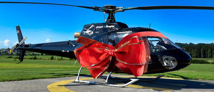 Gratis Helikopterflug Gutschein