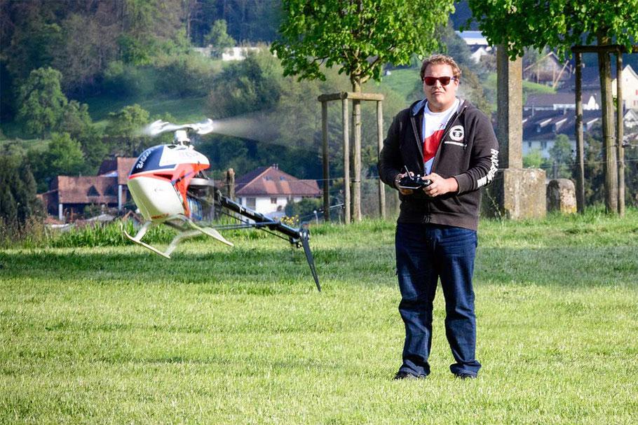 Markus Berger Helikoptermodell