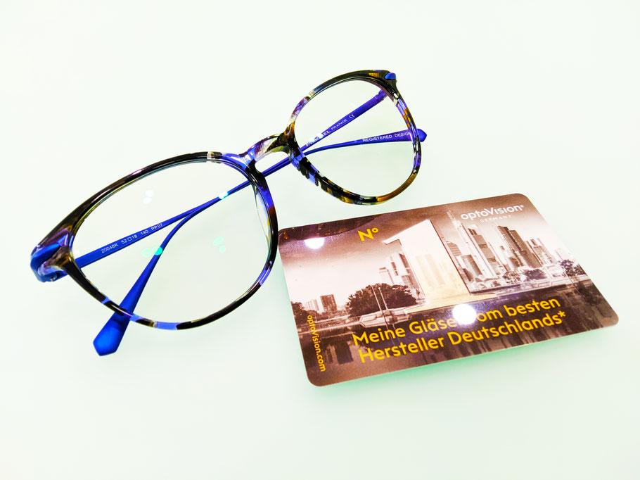 Montatura Morel e lenti Optovision fotocromatiche