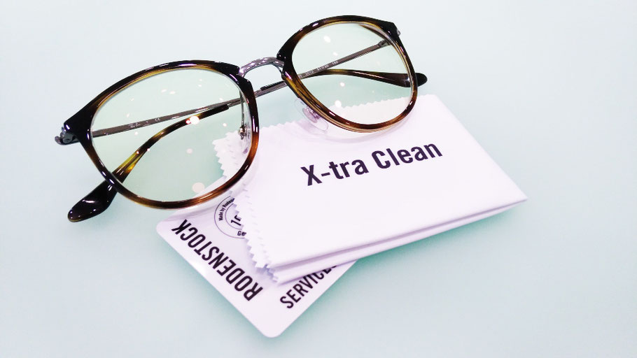 Ray Ban con lenti anti UV X-tra Clean