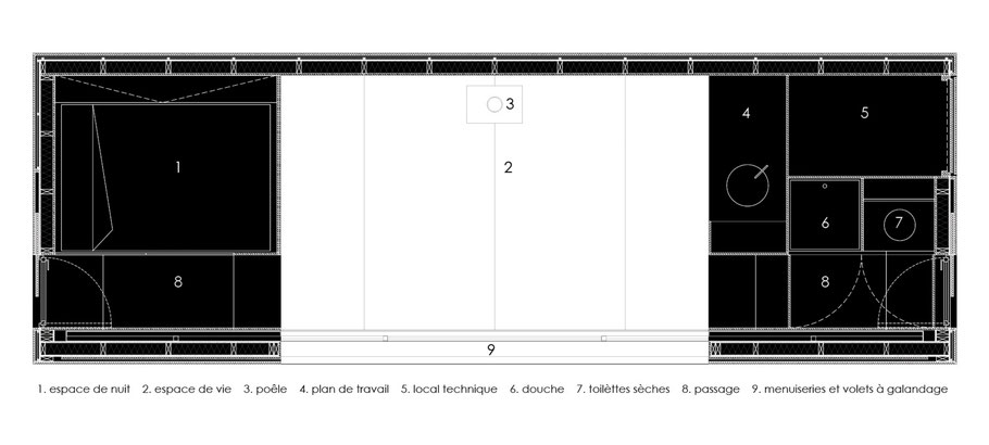 Concept H Eva Architecture Transportable Autonome