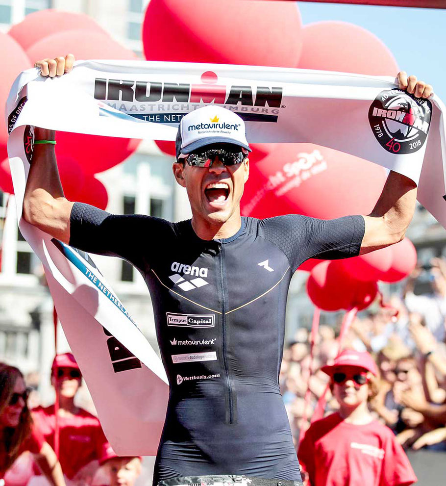 Pascal Ramali gewinnt den Ironman Maastricht