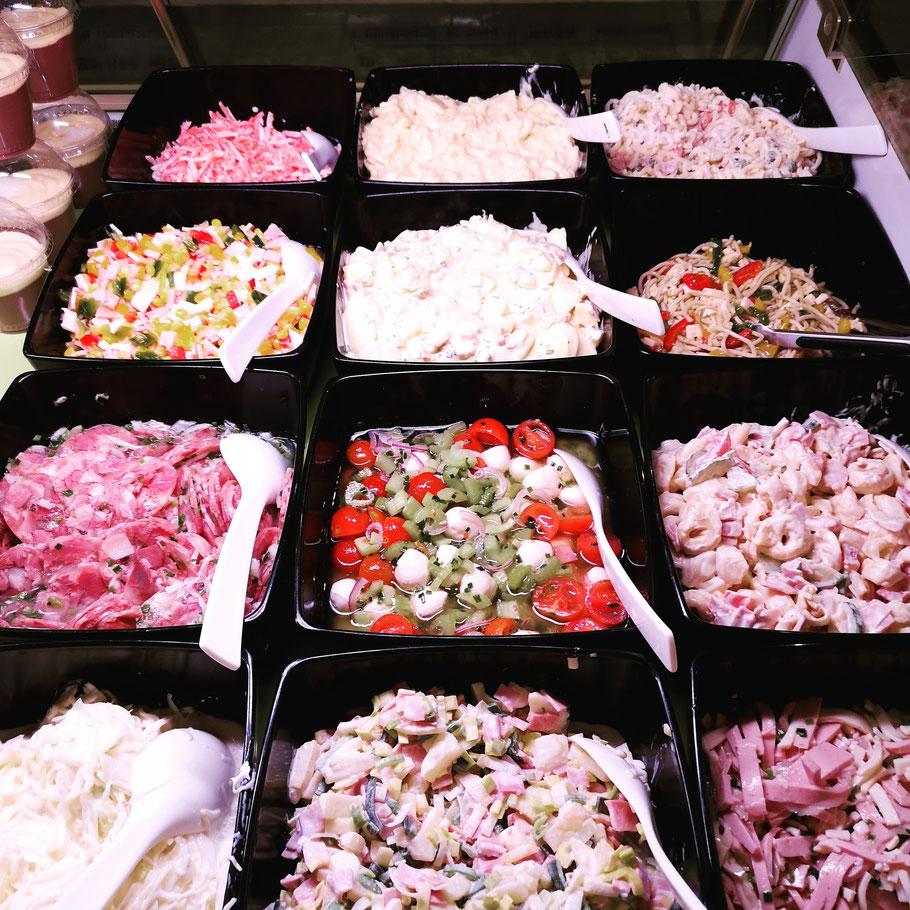 Feinkostsalate - Fleischerei bechtel - BBQ und Grillfest