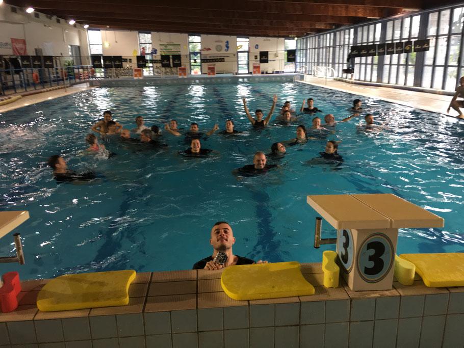 lotta in acqua fdkm e difesa personale alpignano gennaio 2018