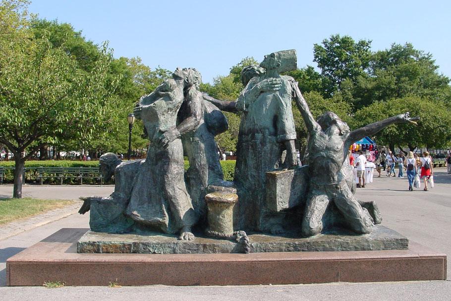 Auswanderer Denkmal in New York
