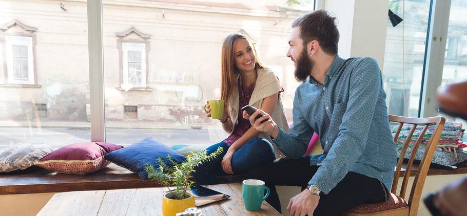 Bild: Blog - Mit diesem 1 simplen Trick bist du glücklicher und hast mehr Dates