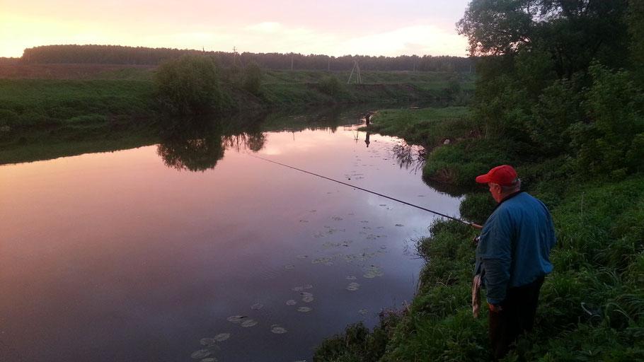 Два Анатолия на рыбалке
