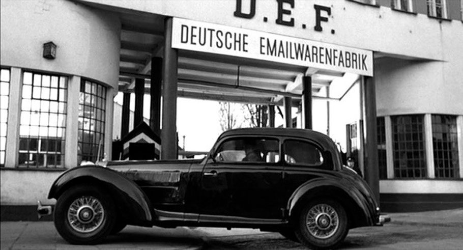"""Fotograma de la película """"La lista de Schindler"""""""