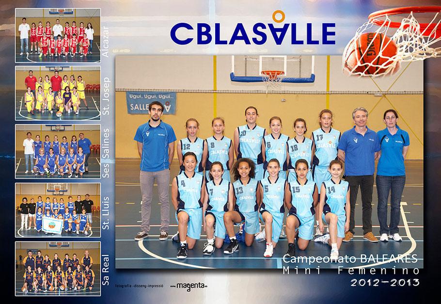 Campeonato Baleares BASQUET 2013 Mini-Femenino