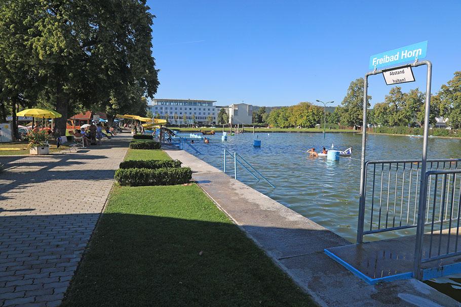 Die Umwandlung des Freibadareals in einen Freizeitpark könnte 2022 Realität werden.