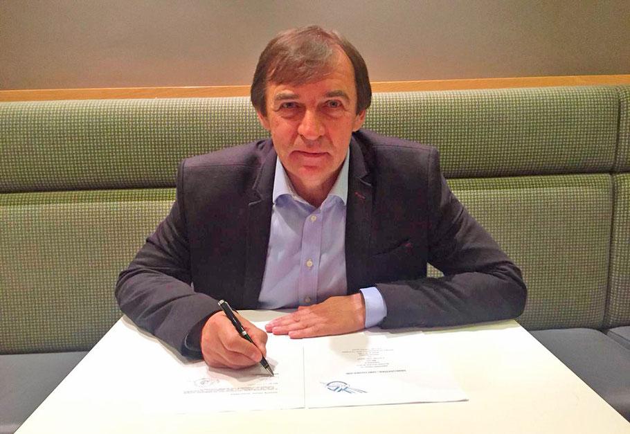 Alexander Borodjuk, neuer Cheftrainer in Horn / Bild: zVg SV Horn