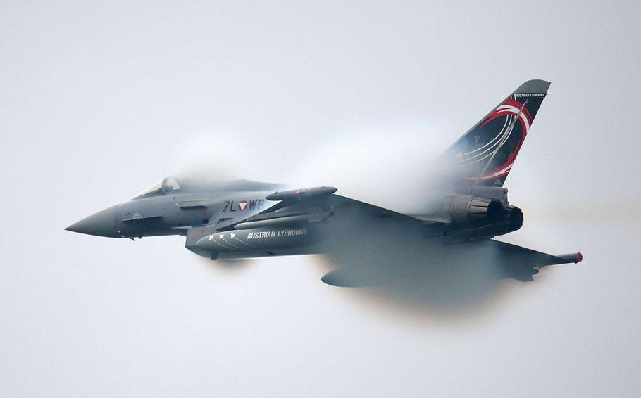 Eurofighter im Einsatz, Bild: Bundesheer/Wolfgang Grebien, Titelbild: Bundesheer/Markus Zinner