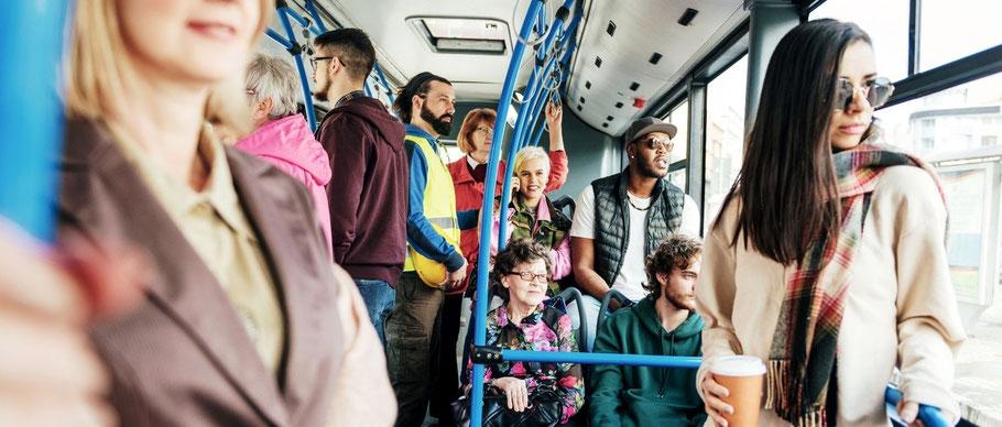 Méditation pleine conscience transports en commun métro méditer