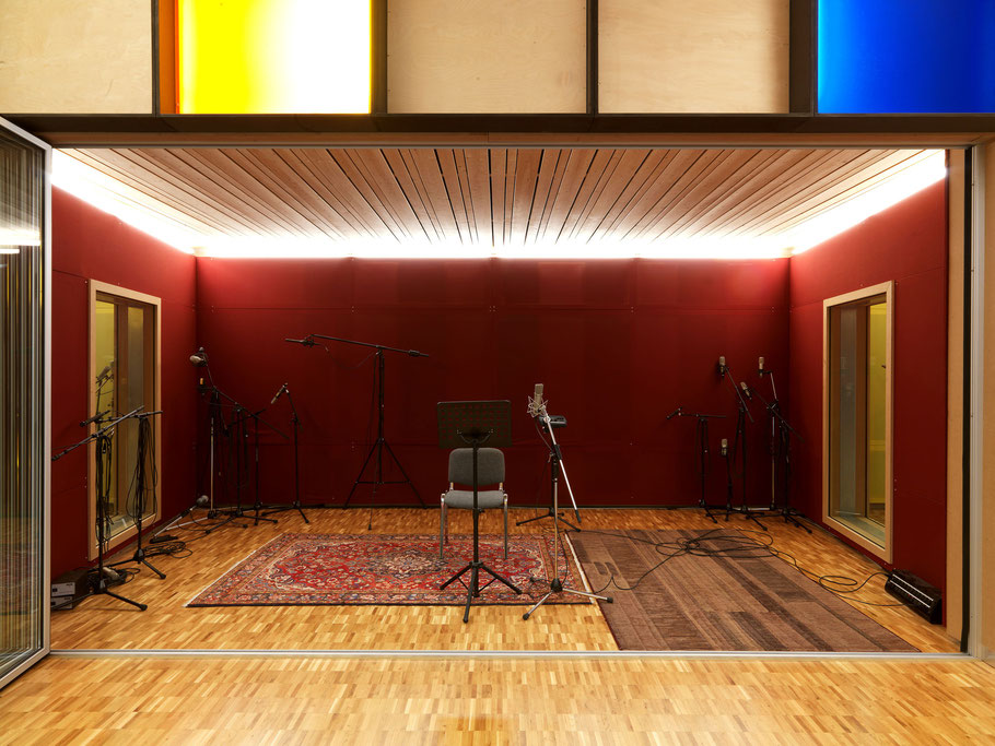 Gabriel Recording - Aufnahmeraum mit 17m2