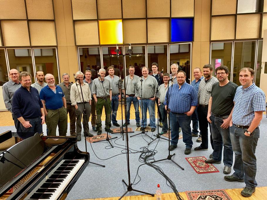 Jodlerklub Meiringen mit Dirigent Thomas Bachofner