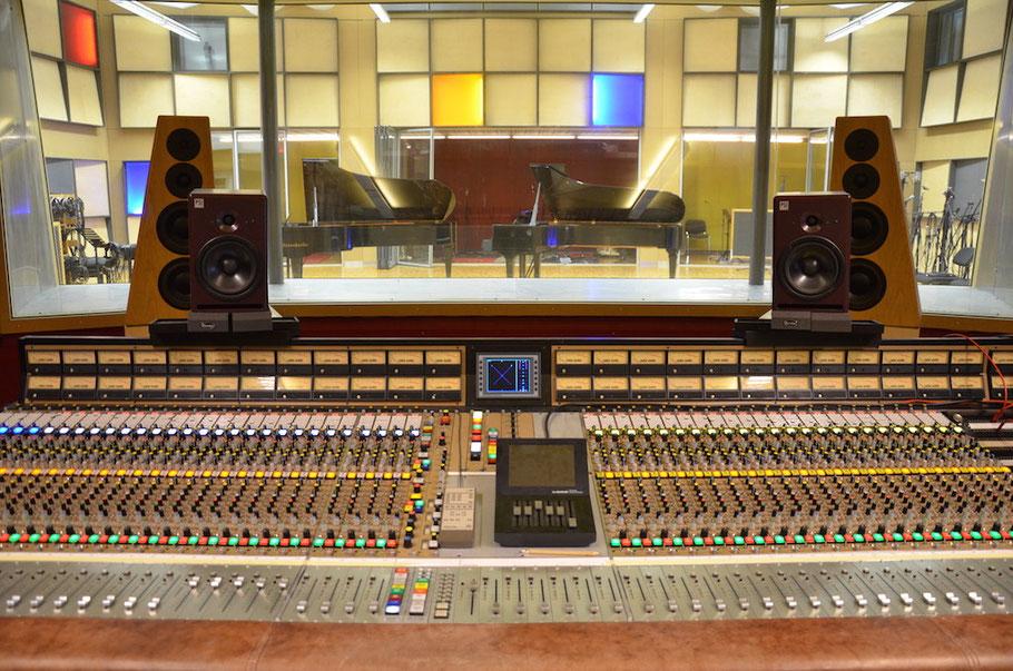 Gabriel Recording - grosse Tonregie mit 46 m2